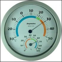 Termometru si higrometru analogic-0974
