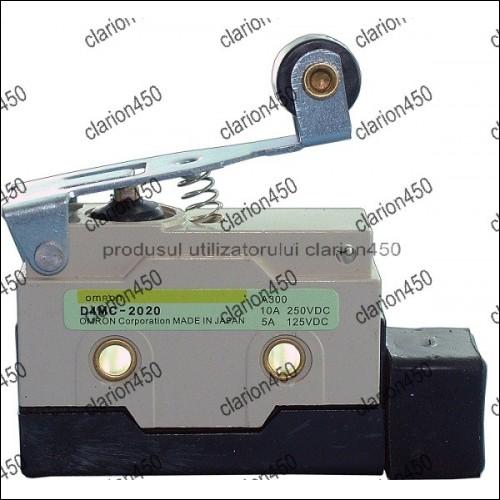 Comutator,limitator cu lamela+rola Omron-5253