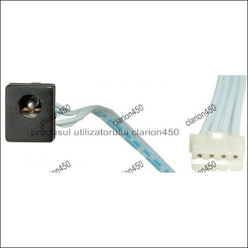 Cablu pentru kit monitor cu mufa c.c. mama-8197